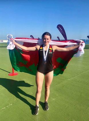 Ffion Roberts Bronze medal winner