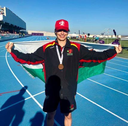Patrick Harris Bronze medal winner